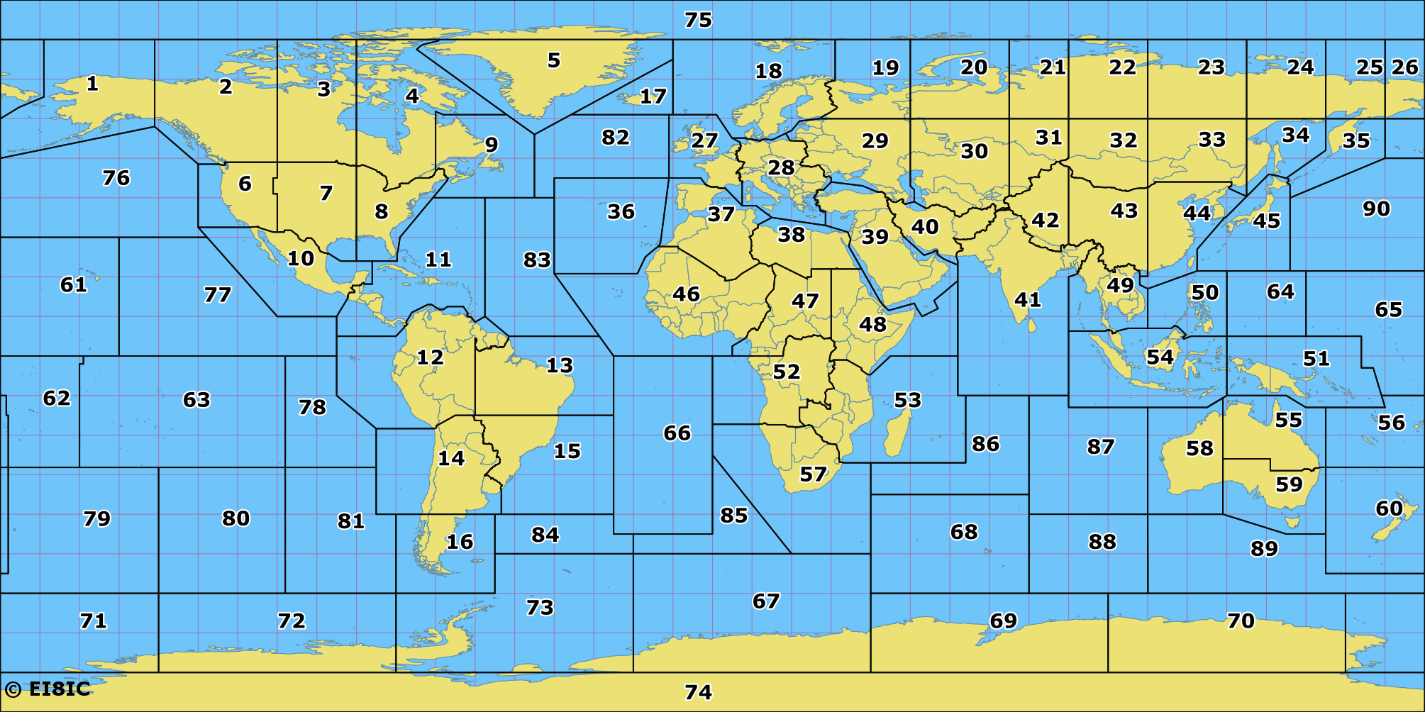 Amateur Radio ITU Zones of the World Map on delaware agricultural map, nassau county town zip code map, west orange nj zoning map, mt. lebanon map, evanston il zoning map, area map, los angeles california fire map, outer cape map, illea map, state map, davis county utah zip code map, simple zoning map, nave map, city map, us cable map, primal map, us zip code map, yamhill county oregon zoning map, weather lansing mi map, sask hunting map,